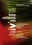 "Book cover ""Living confidently with HIV"""