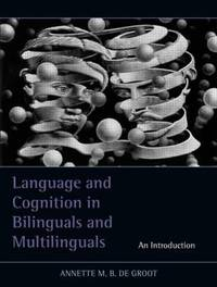 "Bookk cover ""Language and Cognition in Bilinguals and Multilinguals"""